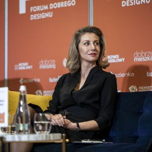 Magdalena Lubińska. Forum Dobrego Designu 2019. Fot. Marek Misiurewicz