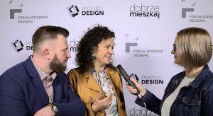 """Czy wnętrza mogą zbliżać? Jak jest w tym rola projektanta? Opowiadają Mirella i Marcin Kępczyńscy, projektanci, prowadzący program """"Para w remont"""" na antenie HGTV."""