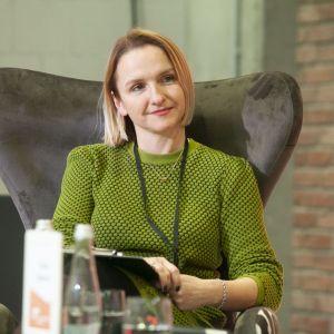 Alina Badora, architekt wnętrz.  Fot. PTWP