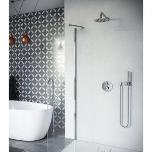 FROST TERMO: zestaw prysznicowo-wannowy podtynkowy. Fot. Excellent