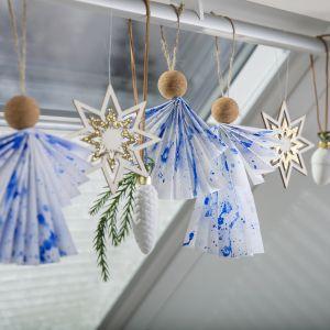 Świąteczne dekoracje. Fot. Velux