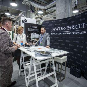 Stoisko firmy Jawor- Parkiet. Fot. Marek Misiurewicz