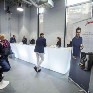 Stoisko firmy Jura. Fot. Marek Misiurewicz