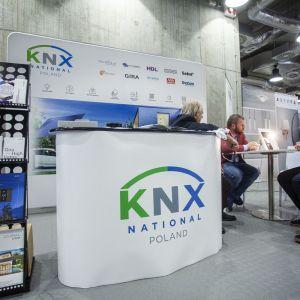 Stoisko stowarzyszenia KNX. Fot. Marek Misiurewicz