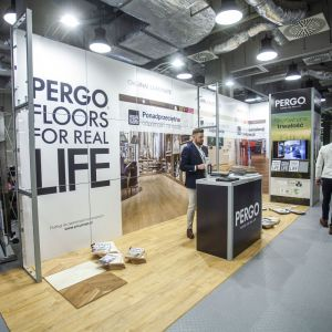 Stoisko firmy Pergo. Fot. Marek Misiurewicz