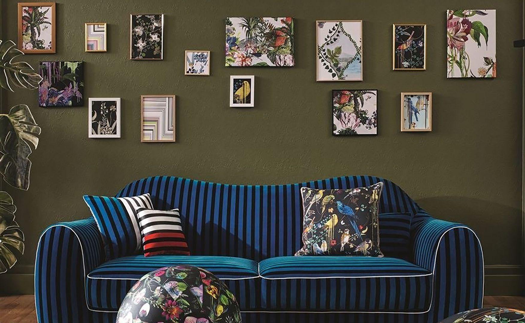 Luksusowe tkaniny i dodatki marki  Designers Guild. Fot. 9design.pl