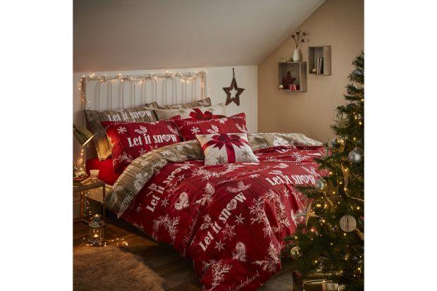 Sypialnia w zimowej odsłonie