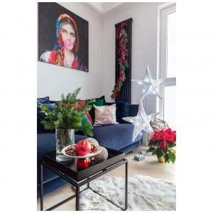 Świąteczna stylizacja wnętrza. Fot. Decoroom/Studio Pion Poziom / Marta Behling