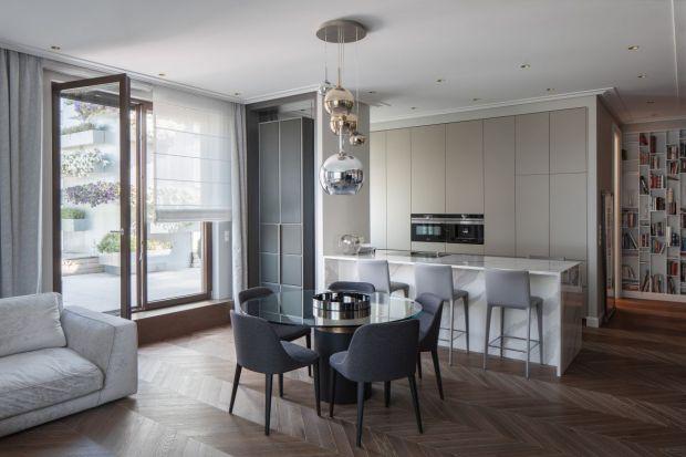 Nowoczesne wnętrze: zobacz piękny apartament na Wilanowie