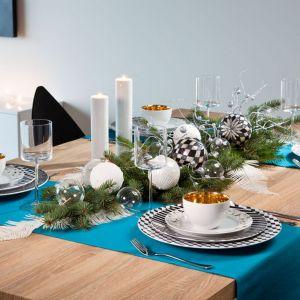 Pomysł na dekorację świątecznego stołu. Fot. Polska Grupa Porcelanowa