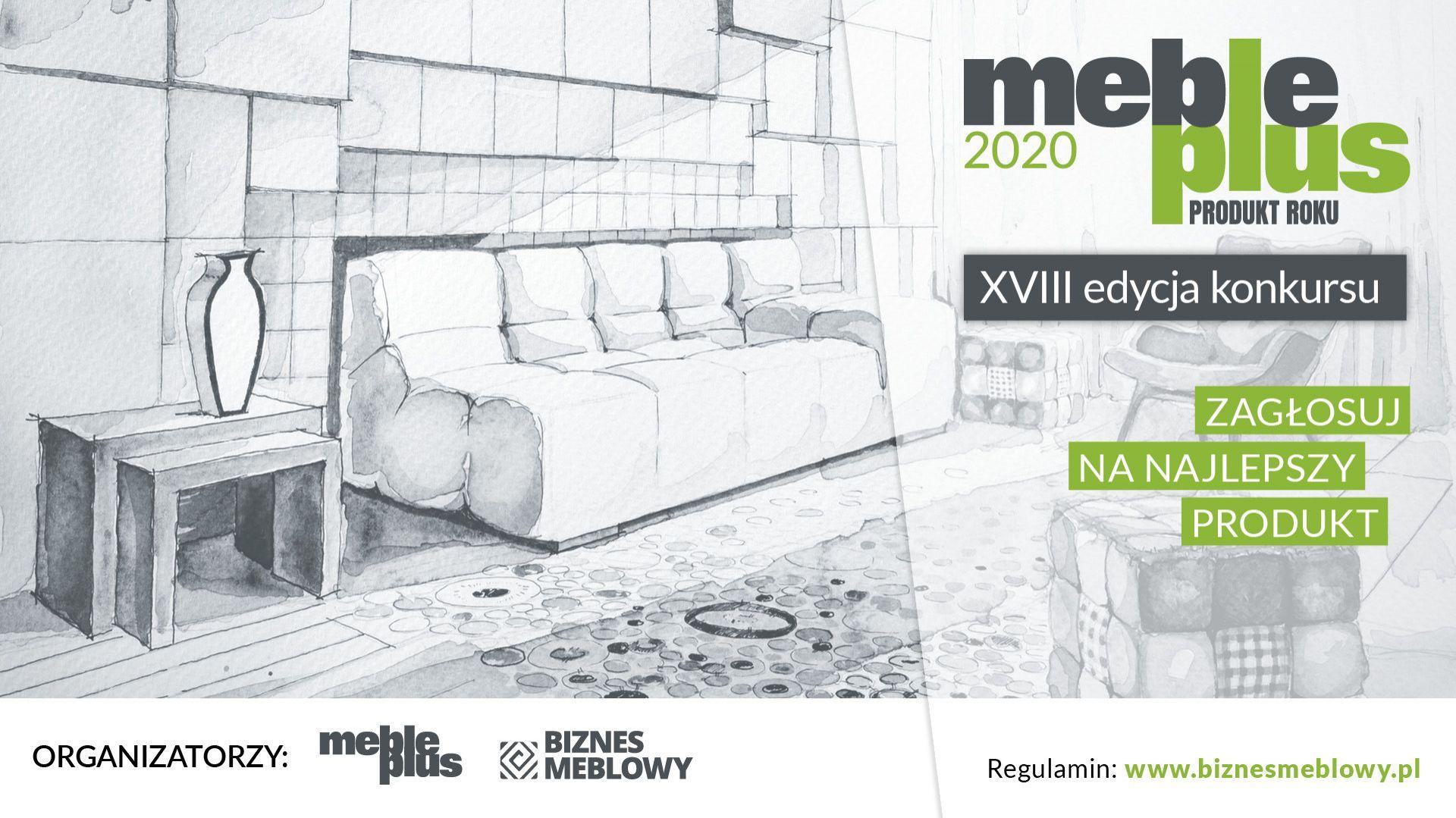 Konkurs Meble Plus - Produkt 2020: ruszyło głosowanie internautów