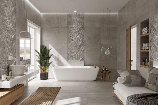 W eleganckich wnętrzach łazienek będą dominowały szlachetne materiały, wizualny spokój i wysokiej jakości elementy wyposażenia.