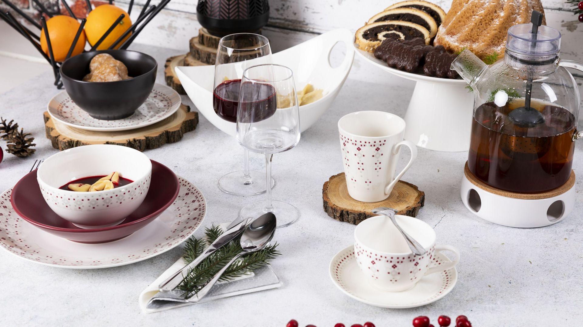 Naczynia Florina z kolekcji Merry. Fot. Zasmakuj Radości