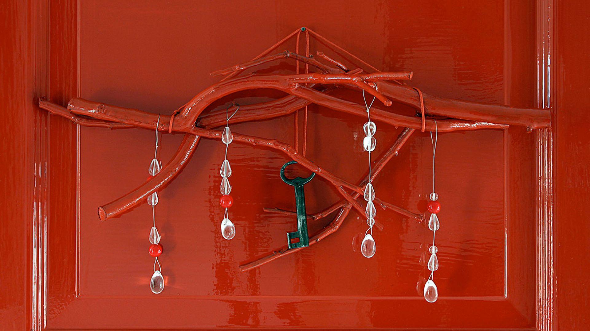 Oryginalne świąteczne dekoracje DIY. Fot. Tikkurila