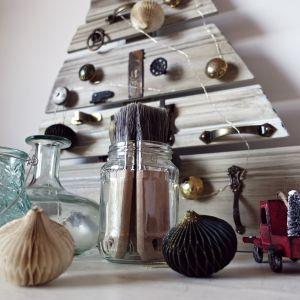 Ekologiczne Święta. Choinka w stylu 'zero waste'. Zdjęcia i wykonanie Dom z Duszą