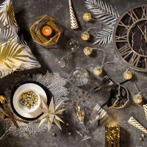 Sylwestrowe dekoracje w Twoim wnętrzu. Efektowne aranżacje!