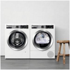 System i.Dos 2.0 automatycznie dobiera detergent - z dokładnością do 1 ml - dbając o to,  by  pranie  było  perfekcyjnie  czyste  i  ekologiczne. Innowacyjny 4D Wash System ma wpływ na wysoką wydajność prania. Dostępna w ofercie firmy Bosch. Fot. Bosch