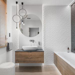 Najpiękniejsze łazienki 2019. Projekt: Estera i Robert Sosnowscy. Fot. FotoMohito