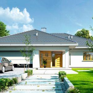 8. Doskonały to projekt domu jednorodzinnego, parterowego, przeznaczonego dla 4-5-osobowej rodziny. Nowoczesna architektura domu koresponduje z funkcjonalnie zaprojektowanym wnętrzem. Fot. MG Projekt