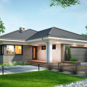 6. Miriam III to projekt domu jednorodzinnego, parterowego, dla 4-5-osobowej rodziny. Fot. Dobre Domy Flak & Abramowicz
