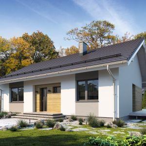 5. Efi to projekt parterowego domu jednorodzinnego zapewniającego optymalne potrzeby 3-4-osobowej rodziny. Jest to dom bardzo funkcjonalny z wyraźnym podziałem na strefy. Fot. Archetyp
