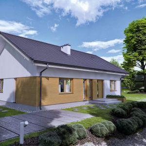 4. TK199 to dom parterowy o prostej bryle i konstrukcji, łatwy i tani w budowie oraz w użytkowaniu. Zastosowane rozwiązania konstrukcyjne pozwalają na dowolne aranżowanie wnętrz. Fot. Architeka