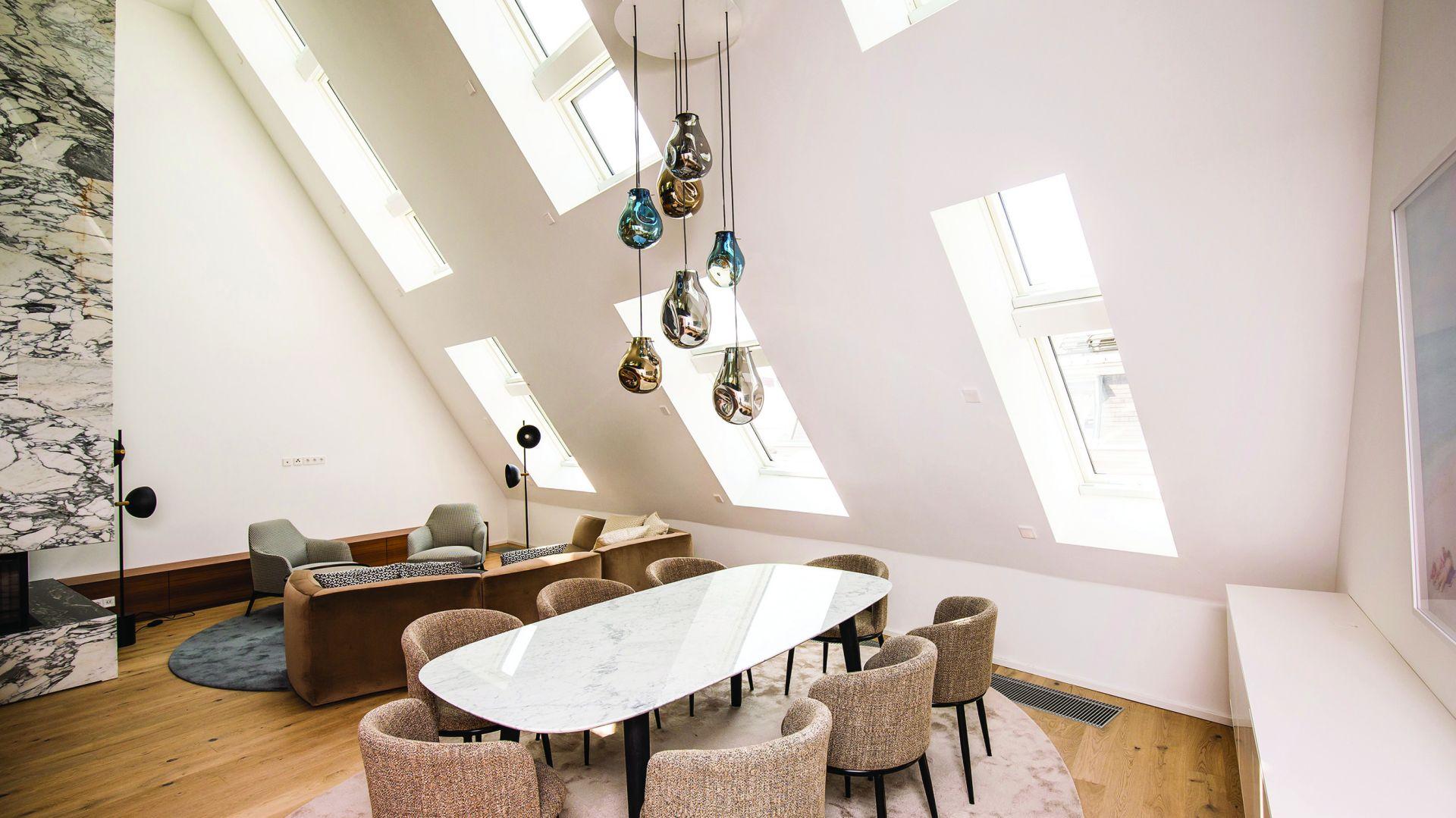 Luksusowy penthouse w zabytkowym sercu Wiednia. Fot. Fakro