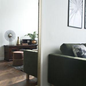 Przytulny zakątek w eklektycznym stylu. Projekt:Miśkiewicz Design. Fot. Anna Powałowska