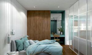 Sypialnia w mieszkaniu singielki
