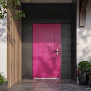 Drzwi z kolekcji Premium, linia  Linéarité. Współczynnik przenikania ciepła Ud=0,92 W/m2K w przypadku drzwi pełnych lakierowanych i okleinowanych. Fot. Vetrex