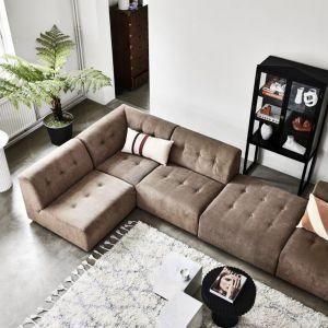 Nowoczesna sofa: nowa kolekcja HK Living, sofa Vint  z oferty Dutchhouse.pl. Fot. Dutchhouse.pl