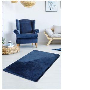 Ciemnoniebieski dywan Milano o wym. 140x80 cm, cena: 194 zł. Fot. bonami.pl