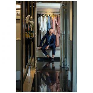 Maciej Zień – jeden z najbardziej znanych i cenionych projektantów mody oraz wnętrz w Polsce. Fot. Piotr Waniorek