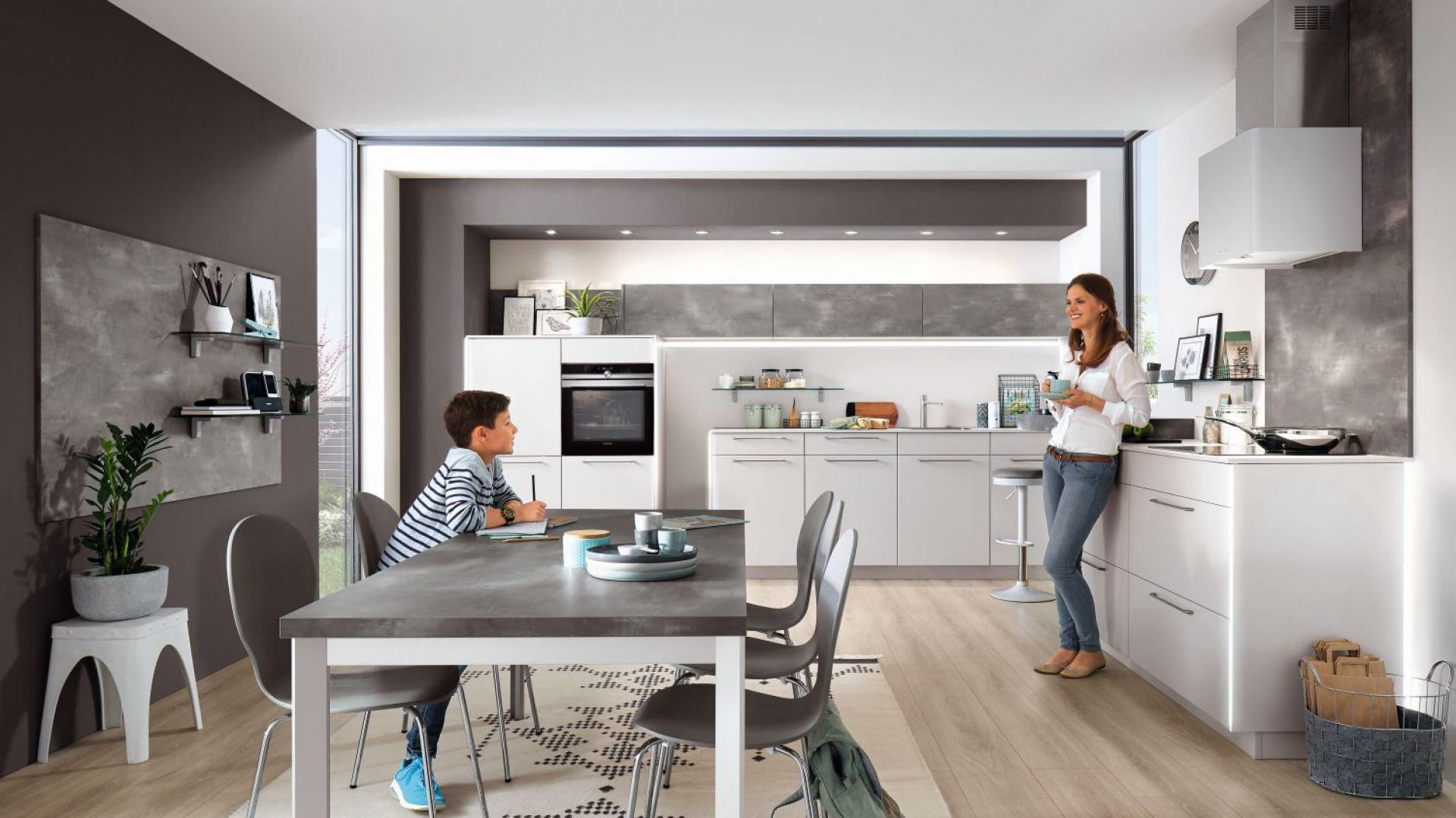 Kuchnia Fashion 171 to propozycja do wnętrz wielofunkcyjnych. Fot. Verle Küchen
