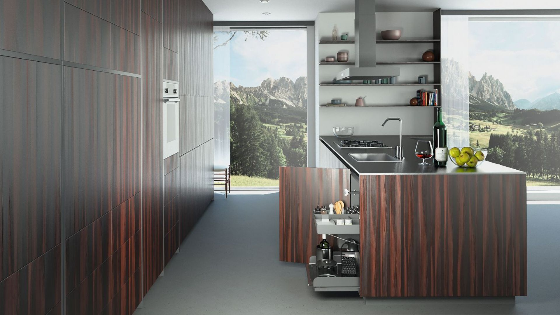 System Kitchen Tower. Fot. Peka