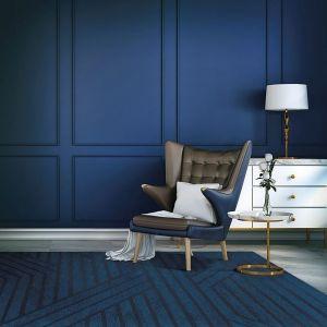 Niebieski we wnętrzu: nowoczesne aranżacje w tym kolorze. Fot. 9design