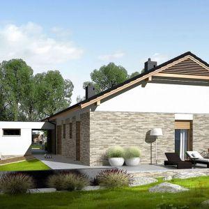 Daniel G2 to dom zaprojektowany dla rodziny, który ceni szlachetną elegancję, nowoczesne połączenia oraz komfort wygodnej i znakomicie doświetlonej przestrzeni. Fot. Archipelag