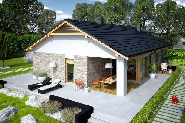 Mały, parterowy dom. Zobacz projekt