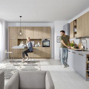 Kuchnia Tavola zaprojektowana z myślą o miłośnikach naturalnych materiałów. Fot. Nolte Küchen