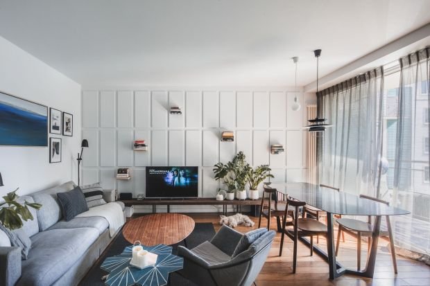 Modny salon: architekt radzi, jak urządzić piękne wnętrze