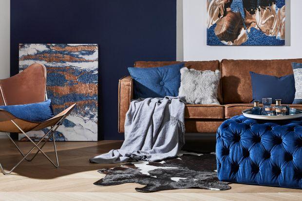 Jak można zastosować kolor Classic Blue we wnętrzach? Oto kilka propozycji.