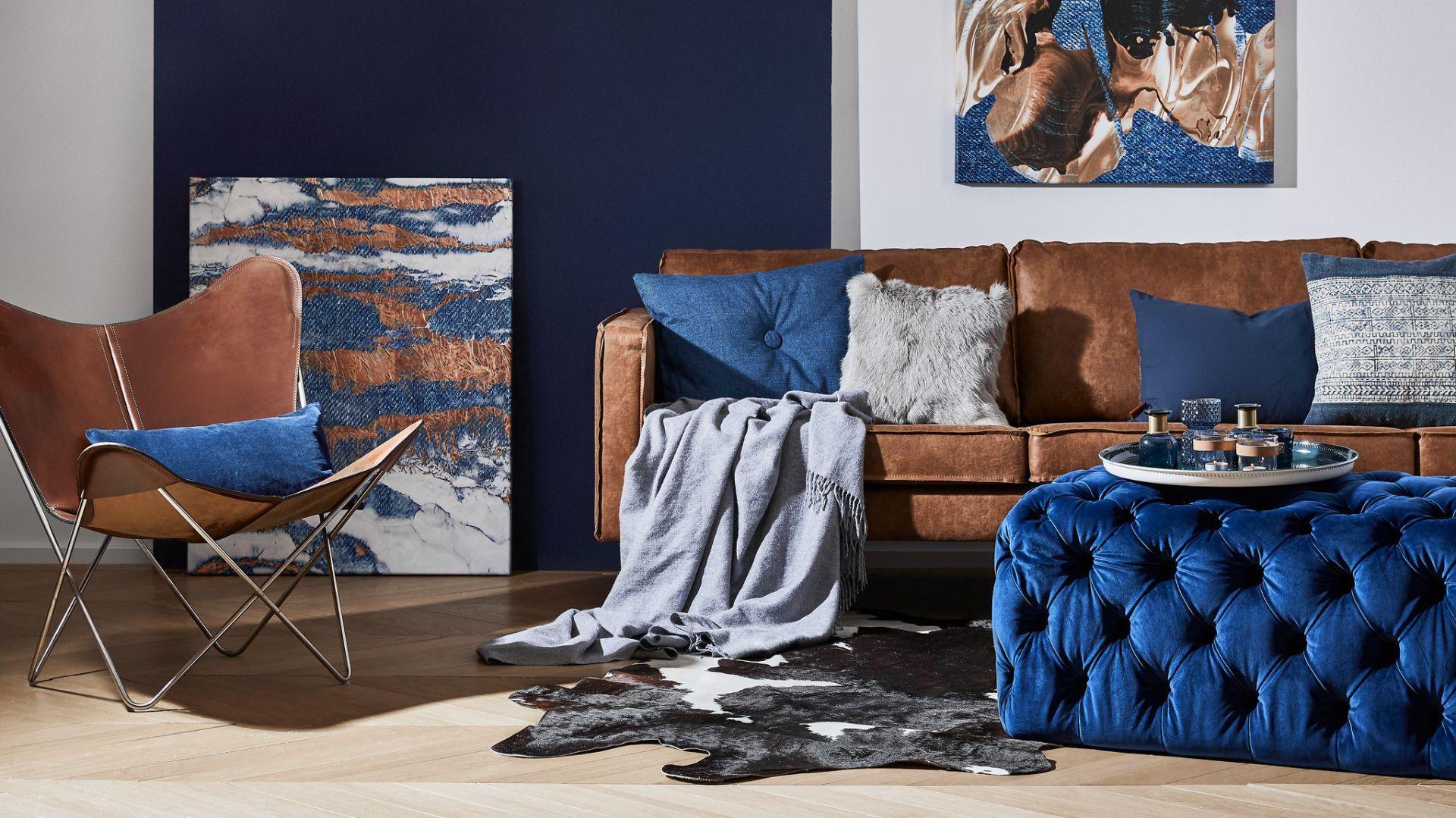Classic Blue we wnętrzach. Fot. Westwing