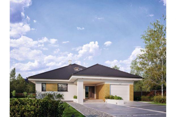 Projekt nowoczesnego domu z poddaszem użytkowym