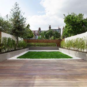 Piękny ogród stanowi wspaniałe przedłużenie wewnętrznej strefy dziennej. Fot. Nick Leith-Smith