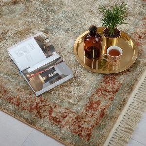 Przykładem dywanów postarzanych zasługujących na szczególną uwagę są produkty z kolekcji Ragotex firmy Arte. Fot. Arte