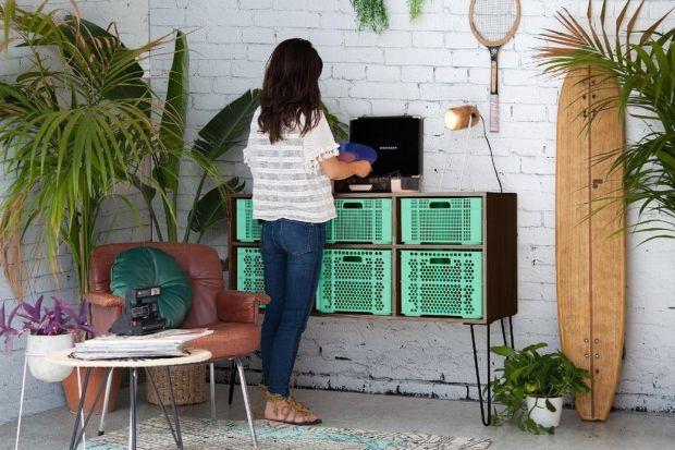 Elastyczność i funkcjonalność koloru sprawia, że mięta idealnie sprawdzi się w kuchni, sypialni i w łazience.