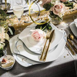 Serwis Victoria wykreowany na cześć szwedzkiej następczyni tronu przez projektantkę Anne Rooslien, zachwyca królewskim designem i unikalnym wzornictwem. Fot.  Fyrklӧvern