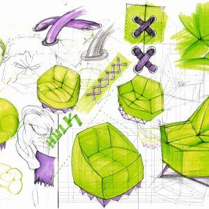 Max Kobiela jest autorem kolekcji mebli zaprojektowanych dla Disneya, w której przeniósł ikony popkultury na język wzornictwa przemysłowego.