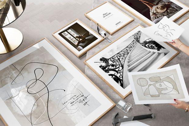 Pomysły na ściany - modna galeria w 5 krokach