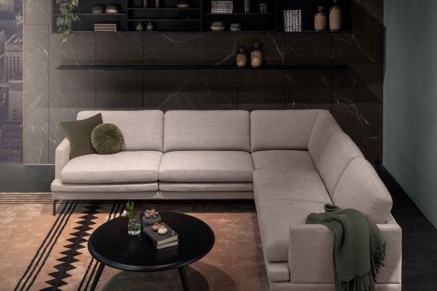 """Wygodna i komfortowa sofa w salonie nadaje styl całej aranżacji pomieszczenia. Nie od dziś wiadomo, że """"mniej znaczy więcej"""", zatemmodel o minimalistycznej, prostej bryle może okazać się przysłowiowym strzałem w dziesiątkę, zwłaszcza gd"""